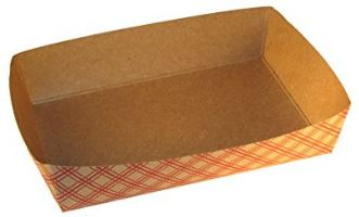 Specialty Quality Packaging lunch, snack and hot dog trays compostable