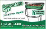 Plastic Solutions EcoSafe 6400 Compostable bag liners