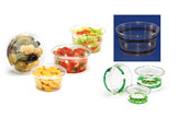 Fabri-Kal corn based portion cups with lids compostable