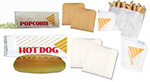 mcnairn packaging grease resistant wax coated natural bleached kraft deli bags compostable