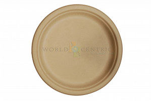 paper plates world centric wheat straw fiber compostable